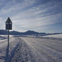 Winter road trip adventure